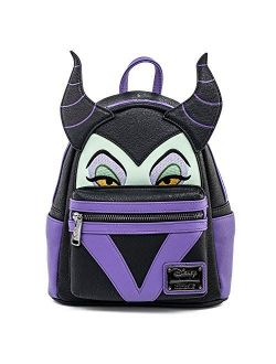 Disney Maleficent Faux Leather Cosplay Womens Double Strap Shoulder Bag Purse