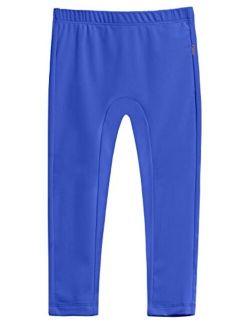 City Threads Girls' Swimming Bottom Leggings UPF50+ Rash Guard Swim Pants Made in USA