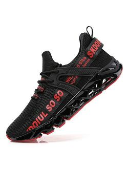 TSIODFO Men Sport Athletic Running Walking Shoes Runner Jogging Just So So Sneakers
