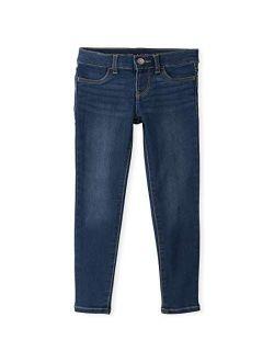 Girls' Super-soft Stretch Denim Legging Jeans