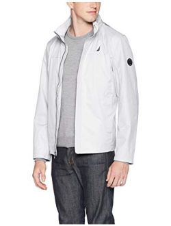 Men's Classic Fit Embroidered Levy Bomber Jacket Coat