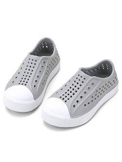 okilol Toddler Boys Girls Slip On Sneakers Water Sandals Shoes