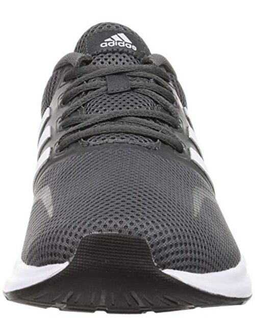 adidas Falcon Men's Neutral Running Fitness Trainer Shoe Grey