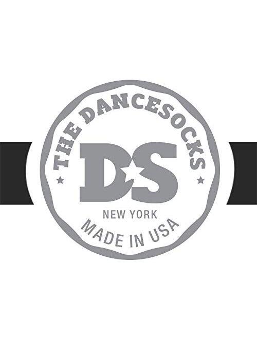 THE DANCESOCKS - 100% USA Made Over Sneaker Dance Socks, Carpet (1 Pairs/2 Socks)