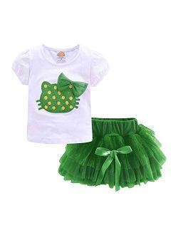 Mud Kingdom Little Girls Outfits Cute Summer