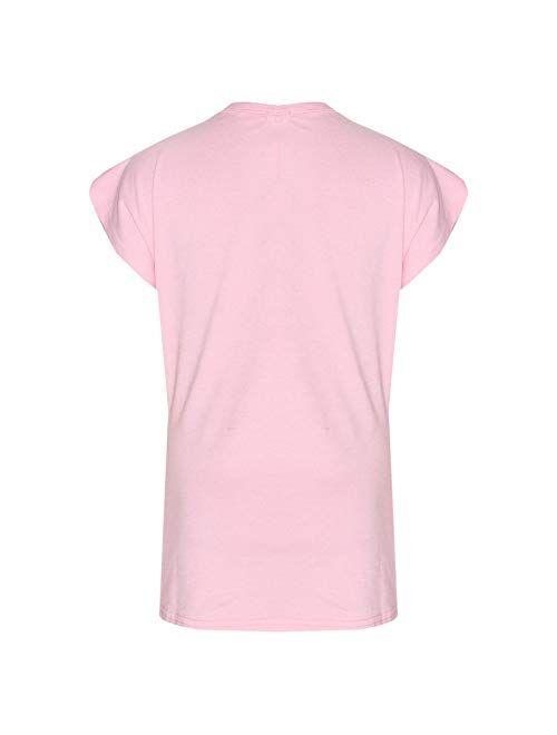 Kids Girls Tops Designer's Looking Awesome Print T Shirt & Legging Set 5-13 Year