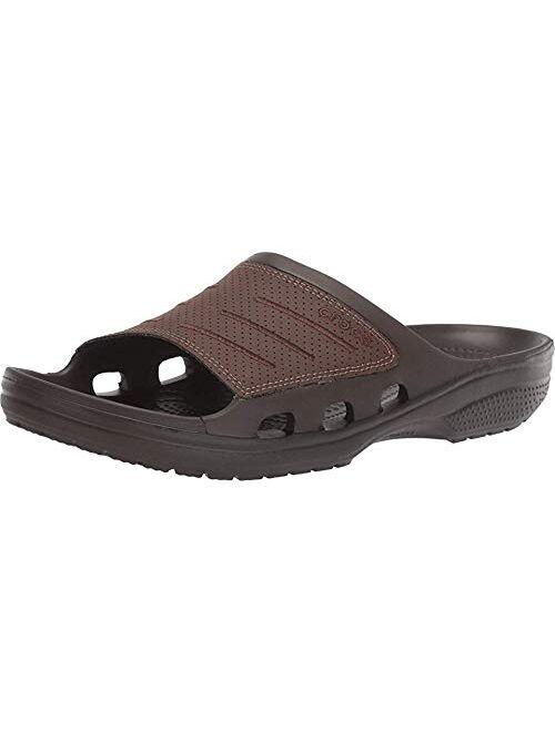 Crocs Men's Synthetic Open Toe Bogota Slide