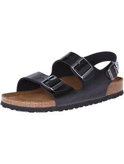 Milano Unisex Soft Footbed Leather Sandal