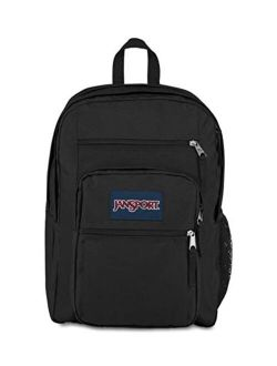 Men's Solid Big Student Casual Backpack