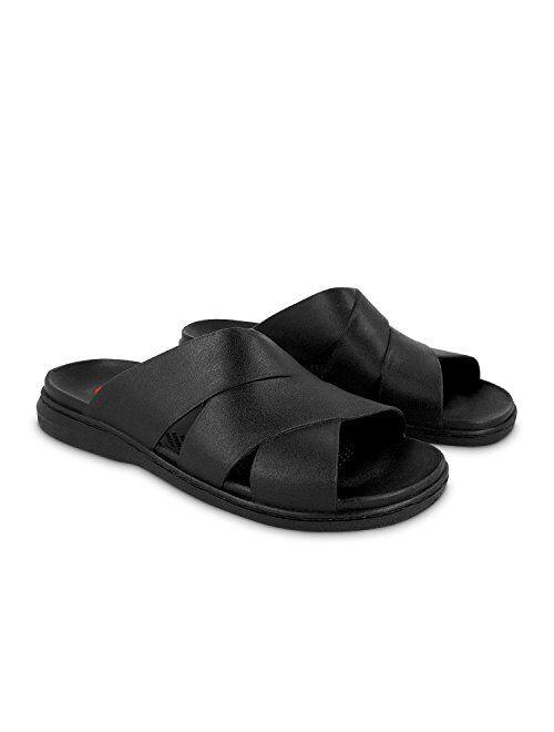 OKABASHI Mens Milan Flip Flops - Sandals