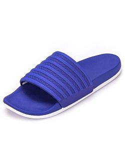 Harvest Land Mens Slides Comfort Sports Sandals Yoga Foam Casual Swim Shoes for Beach Indoor/Outdoor Size 5-14