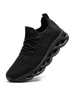 Baivilin Womens Walking Tennis Shoes Slip On Sneakers Lightweight Casual Athletic Running Shoes