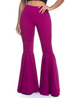 Women's J2 Love Mermaid Ruffle Flare Pants