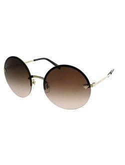 Women's Round Medusa Sunglasses
