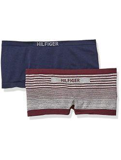 Women's Seamless Boyshort Underwear Panty, Multipack
