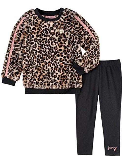 Juicy Couture Girls' 2 Pieces Leggings Set