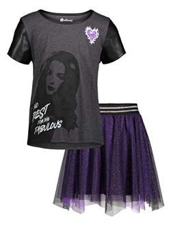 Descendants Girls T-shirt And Skirt Set
