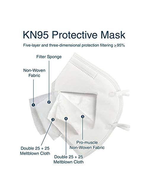 U.S. Med Biotech KN95 Face Masks (N95 Alternative) Pack of 2.