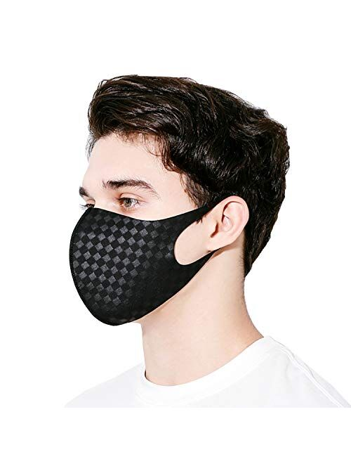 NYBEE SPORT COOLING PROTEX Face Mask UPF 50, Silver ion nano, Washable, Reusable, Breathable, Lightweight, UV Sunblock, Women, Men, Unisex for Running, Driving, Gym, Spor