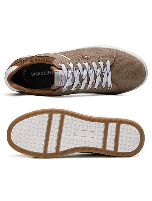AX BOXING Mens Casual Shoes Fashion Sneakers Breathable Comfort Walking Shoes for Male