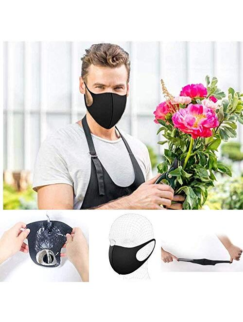 8 Pack Protective Cover Washable Reusable Protective Cover 4 ColorsSuitable for Men Women