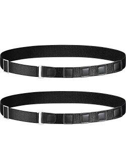 Shirt Stay Belt Adjustable Elastic Shirt Holder Lock Keep Shirt Tucked in