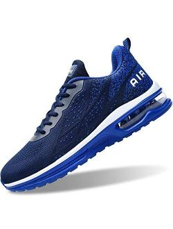 GOOBON Air Shoes for Men Tennis Sports Athletic Workout Gym Running Sneakers Size 7-12