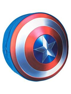Boys Captain America Shield Backpack