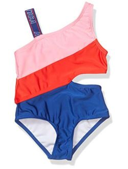 Girls' One Piece Swimsuit with UPF 50+ Sun Protection