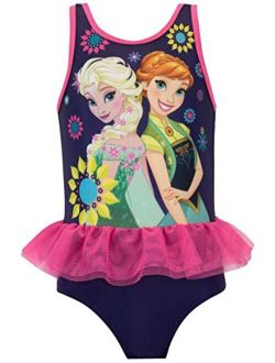 Girls Frozen Swimsuit