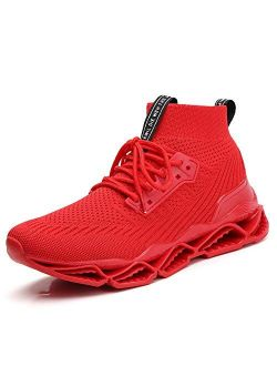 Ezkrwxn Men's Balenciaga Look Sneakers Sport Athletic Tennis Walking Shoes