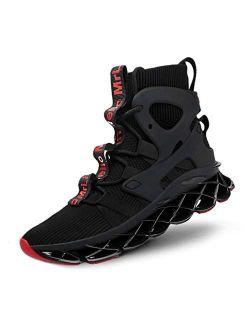 Hello MrLin Men's Balenciaga Look Running Shoes Non Slip Athletic Tennis Walking Blade Type Sneakers Hip Hop