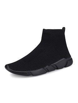 A-PIE Women's Balenciaga Look Casual Walking Shoes Breathable Lightweight Mesh Slip on Sneaker