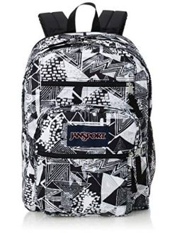 Polyster Printed Big Student Backpack