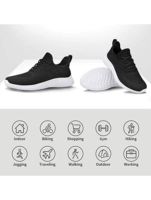 Flysocks Slip On Sneakers for Men-Fashion Sneakers Walking Shoes Balenciaga Look Lightweight Breathable Mesh Running Shoes