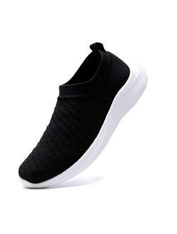 FUDYNMALC Men's Fashion Walking Sock Shoes Lightweight Breathable Mesh Tennis Sneakers Comfortable Balenciaga Look Running Shoes