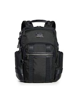 - Alpha Bravo Nathan Leather Laptop Backpack - 15 Inch Computer Bag For Men And Women