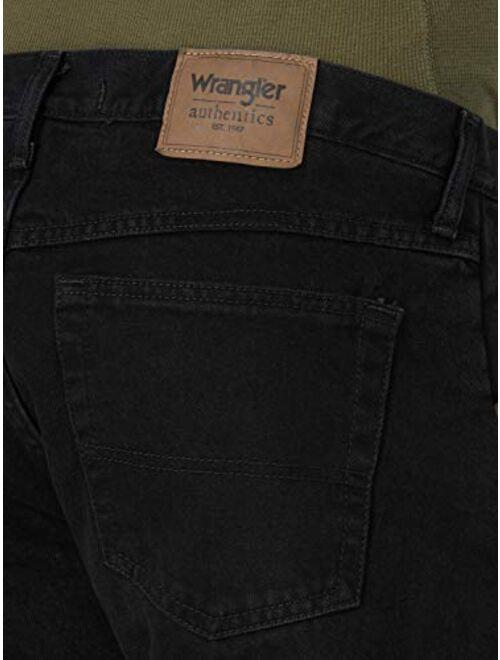 Wrangler Authentics Men's Fleece Lined 5 Pocket Pant
