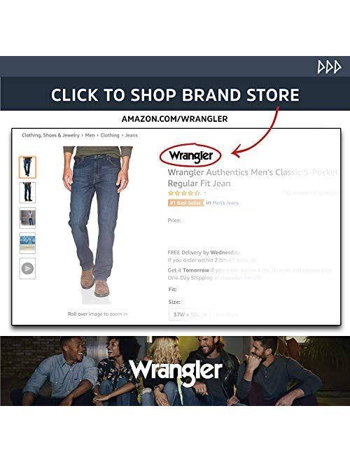 Wrangler Authentics Men's Fleece Lined Cargo Pant, British Khaki Twill, 34W x 30L