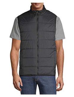 Mens Puffer Vest (small 34/36, Black)