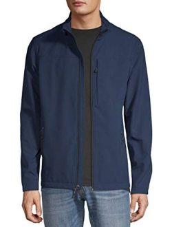Men's Long-sleeve Soft Shell Jacket (blue Cove)