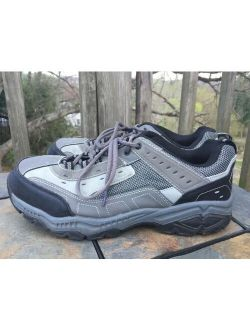 Seth Steel Toe Oil Slip Resistant Low Top Work Boots Mens Shoes Sz 11