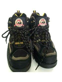 Toe Brahma Kane Work Boots Us 8/eu 41.5 Mens Waterproof Boot Black