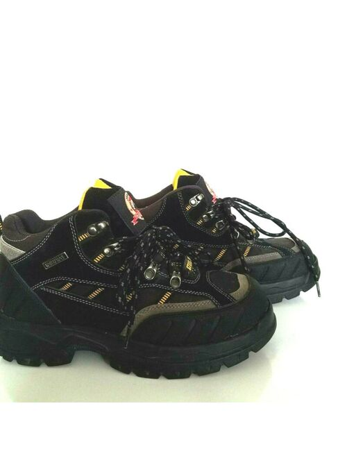 Steel Toe Brahma Kane Work Boots US 8/EU 41.5 Mens Waterproof Boot Black
