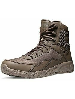 Men's Military Tactical Boots Water Repellent Lightweight Mid-ankle Comba...