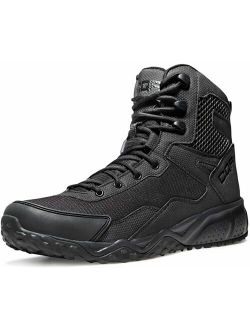 Men's Military Tactical Boots, Water Repellent Lightweight Mid-ankle Combat