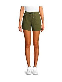 Women's Commuter Shorts (large 12/14, Green)