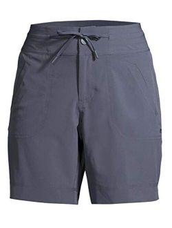 Women's Commuter Bermuda Shorts (x-small 0/2, Grey)