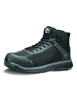 Pro Men's Drivetrain Mid Composite Safety Toe Electro Static Dissipative Athletic Work Boot