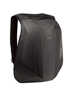 """123008.36 No Drag Mach 1 Motorcycle Backpack - Stealth Black, 19"""" H X 12.5"""" W X 6.5"""" D"""
